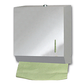 HAND TOWEL ZIG-ZAG PAPER HOLDER INOX SATINE 600 SHEETS 3 PCS.