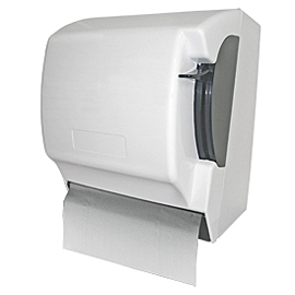 HAND TOWEL HANDROLL PAPER HOLDER WHITE MANUAL