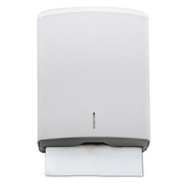 HAND TOWEL PAPER HOLDER WHITE 1000 SHEETS