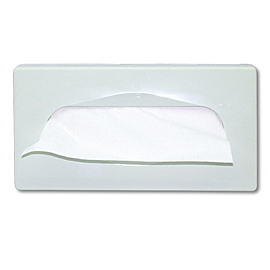 TISSUE DISPENSER (4Α50801) WHITE 4 PCS.
