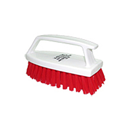 1015R HANDHELD BRUSH WITH HANDLE RED 155 X 70 X 80 - 6 PCS.