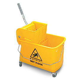 MINI MOPPING SET YELLOW WITH PRESS