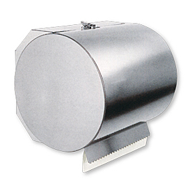 CASE FOR IND. PAPER ROLL INOX SAT. WALL MOUNTED (123/AS)