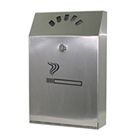 ASHTRAY WALL MOUNTED INOX