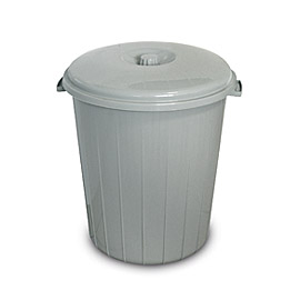 BIN GRAY 35L WITH LID