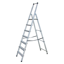 ALUMINUM LADDER HOUSEHOLD SC7 100
