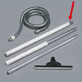 ALUMINUM TUBE 1M WITH PROTECTION 1M
