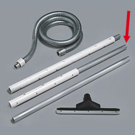 ALUMINUM TUBE 1M WITH PROTECTION 0.5M