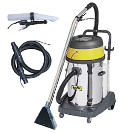 EXTRACTION VACUUM CLEANER 9BAR 2X1400W COMPLETE