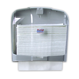 HAND TOWEL PAPER HOLDER TRANSPARENT 600 SHEETS 4 PCS.