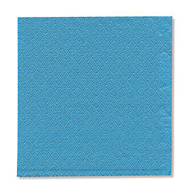 NAPKIN BLUE  1PLY 23X24 5X750 PCS.