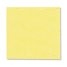 NAPKIN YELLOW  1PLY 23X24 5X750 PCS.