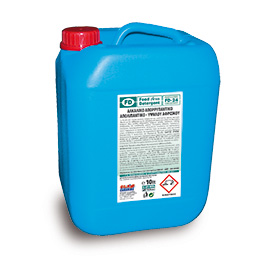 FD 24 ALKALINE DETERGENT DEGREASER HIGHLY FOAMING 10L