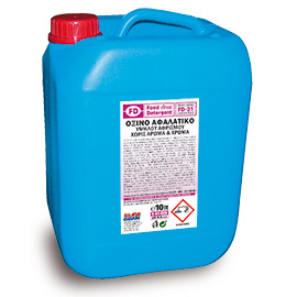 FD 21 ACIDIC DESCALER (FOAMING) ODORLESS & COLORLESS 10L