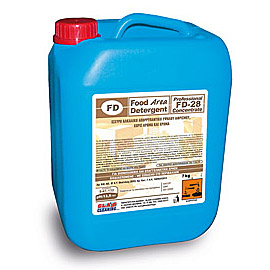FD 28 CONTAINER 7KG STRONG ALKALINE DET. FOR OVENS CHAMBERS 1 PC.