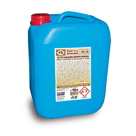 FD 28 STRONG ALKALINE DETERGENT FOR OVENS AND CHAMBERS 10L