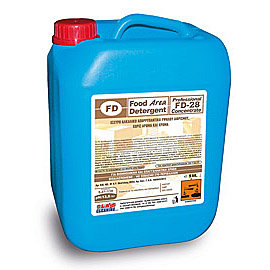 FD 28 CONTAINER 5L STRONG ALKALINE DET. FOR OVENS CHAMBERS 1 PC.